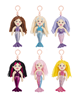 GANZ 14518 SHIMMER COVE MERMAID KEY CLIPS