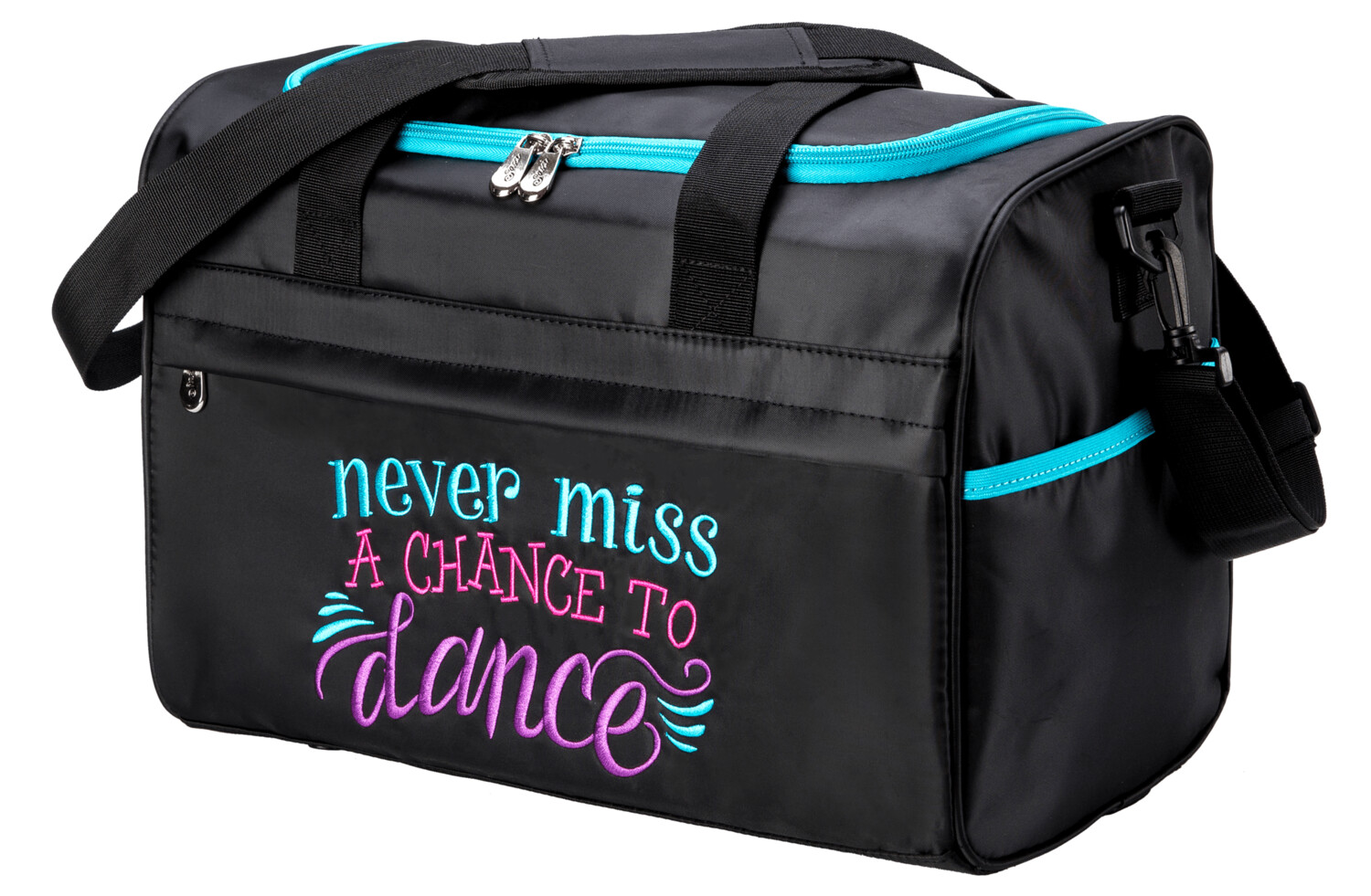 SDB NEVER MISS A CHANCE TO DANCE DUFFEL