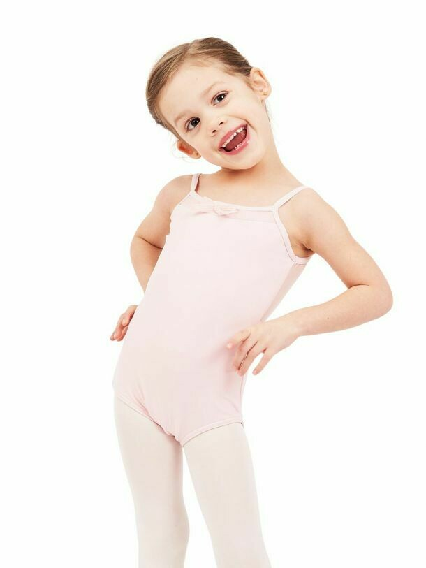 CP CHILD CAMI LEO W/BOW 11595C