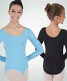 BW BWP026 BASIC LONG SLEEVE LEOTARD