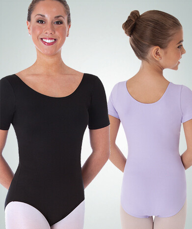 BW BWP222 SHORT SLEEVE BASIC LEOTARD