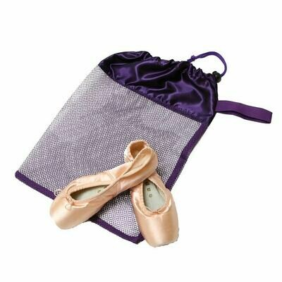 HD 8220 PURPLE MESH POINTE SHOE BAG