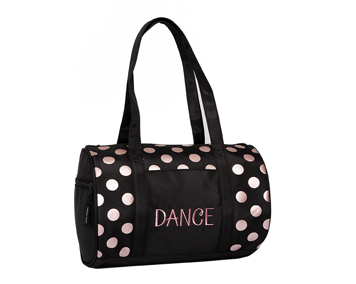 HD 1053 DOTS DUFFEL - ROSE GOLD
