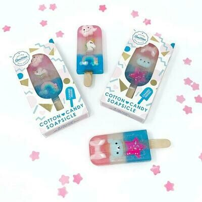 FS COTTON CANDY SOAPSICLE W/ASST CHARM