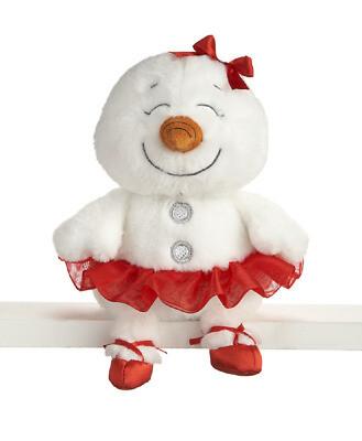 GANZ HX11614 BALLERINA SNOWGIRL PLUSH