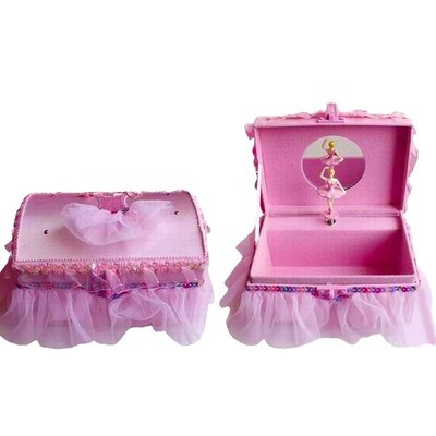 NBG PINK TUTU MUSIC BOX