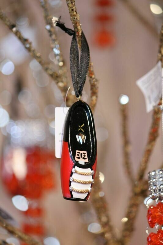 CP A1040U SWAROVSKI POINTE SHOE ORNAMENT