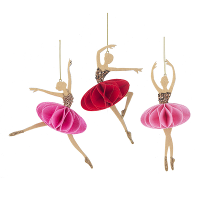 GANZ LARGE BALLERINA ORNAMENT