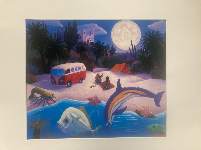 """Baja Beach"" Print By Stephen Morath"