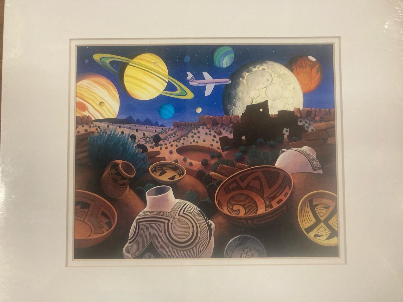 """Night Flight"" Print By Stephen Morath"