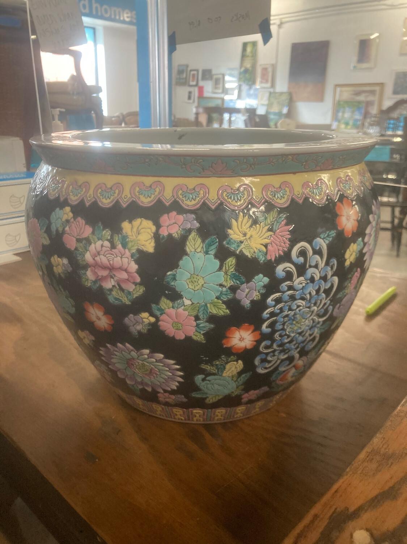 Porcelain Koi Fish Bowl