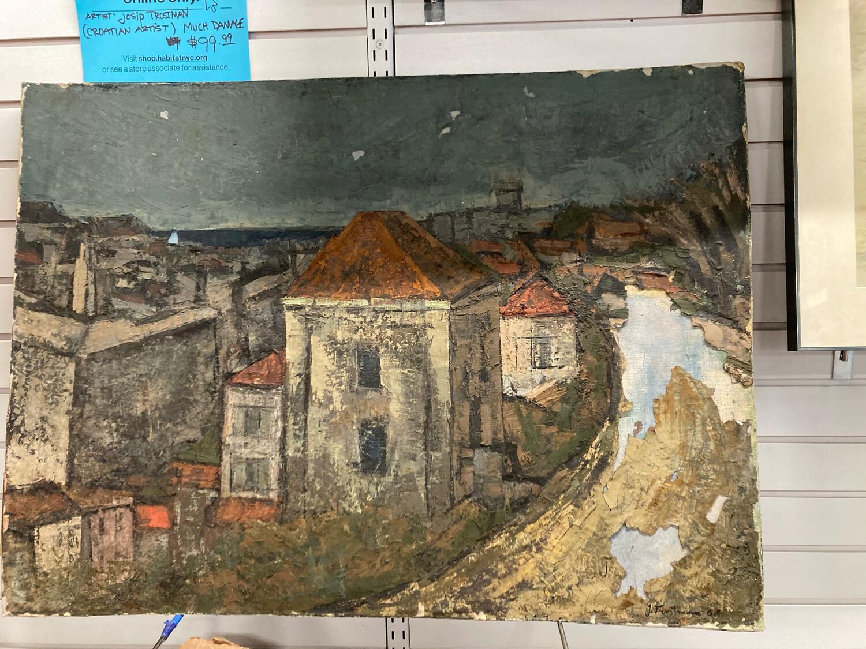 Artist Josip Trostman