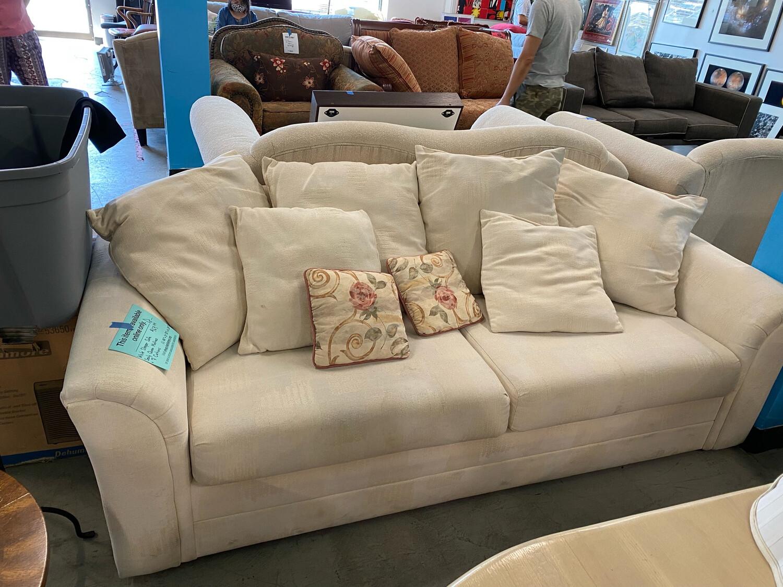 White Sleeper Sofa