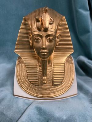 1978 The Gold Mask Of Tutankhamen,24K Burnished Gold, Limited Edition