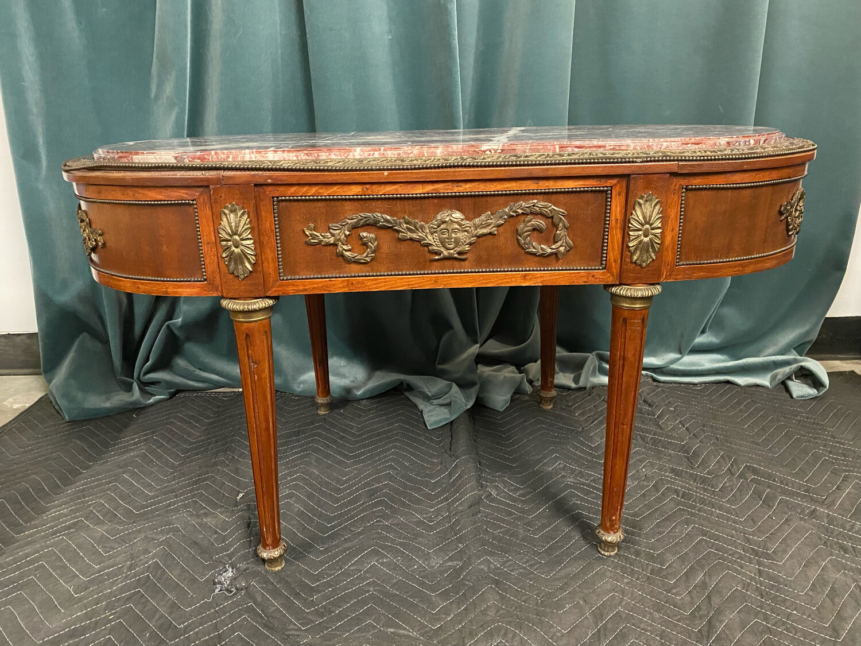 *Limited Edition* Louis XVI Style Bronze Ormolu Coffee Table