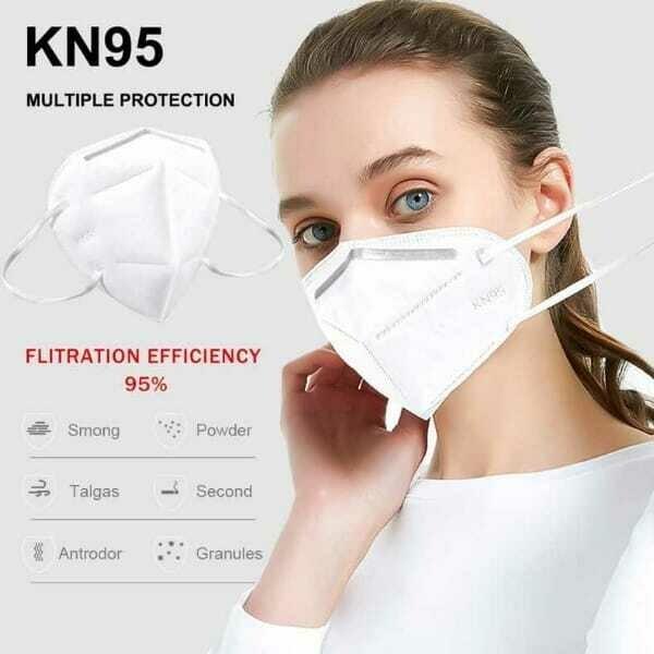 KN-95 Mask (BOX OF 10 MASKS)