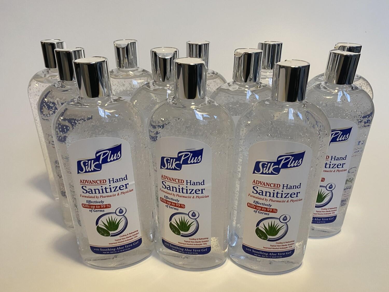 Silk Hand Sanitizer - 75% Alcohol, 17 oz. BIG BOTTLE