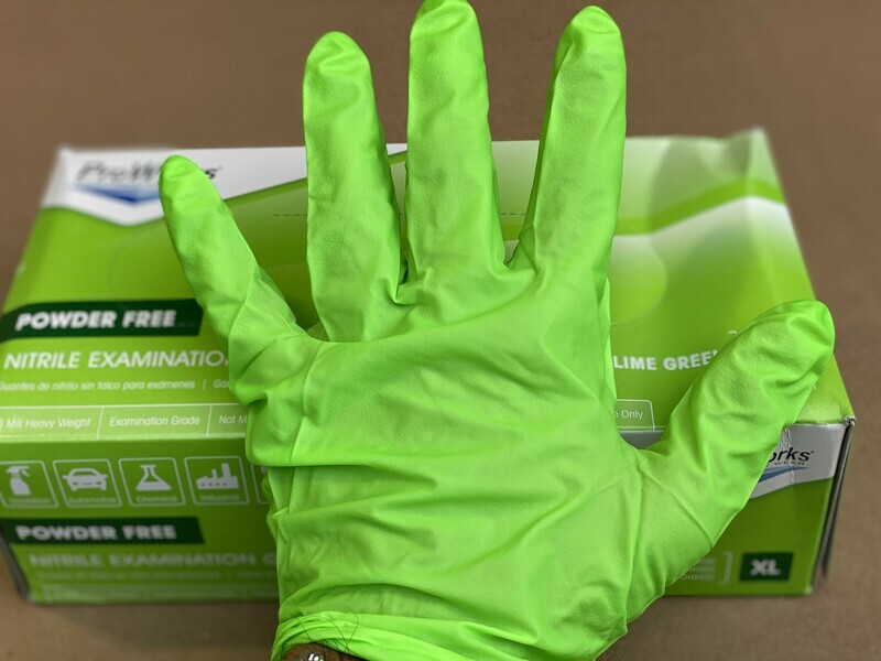 Nitrile Gloves (Extra Large)