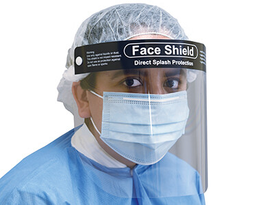 Face Shield / Splash & Droplet Protection