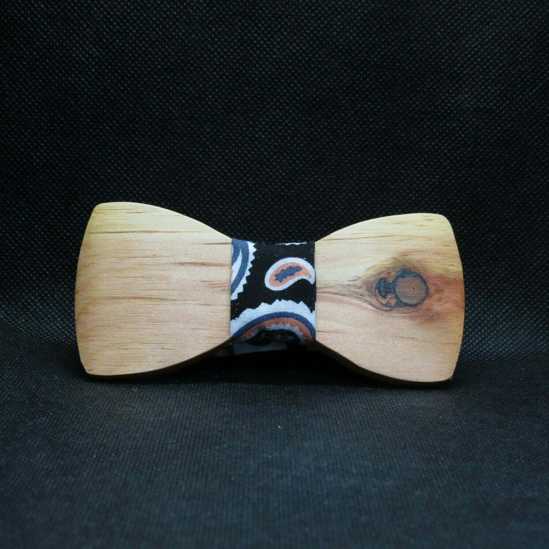 Nœud papillon de bois
