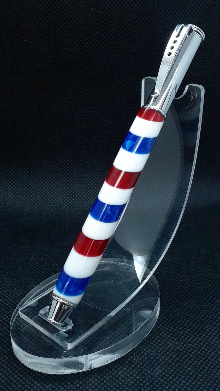 Barberpole pen