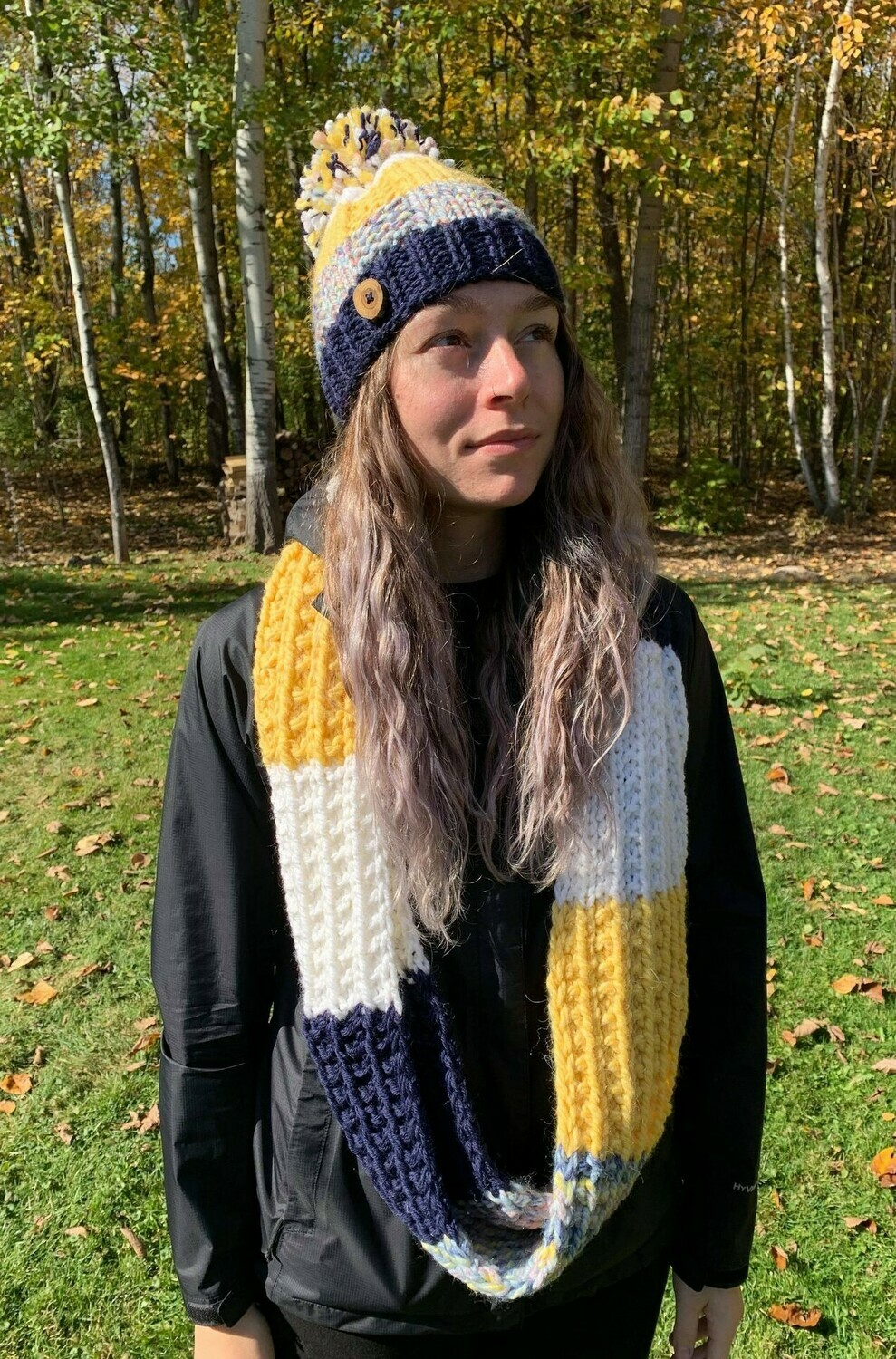 Ensemble tuque et snood