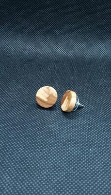 Boucles d'oreille de bois