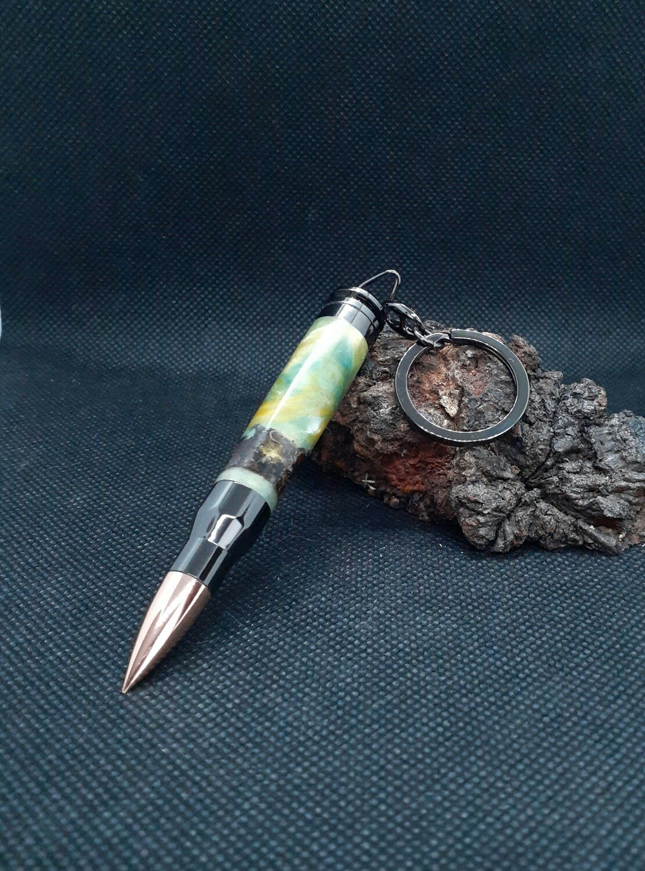 Bullet key chain