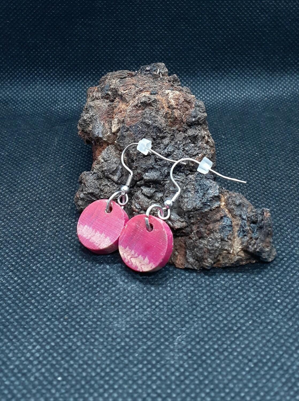 Wood earings