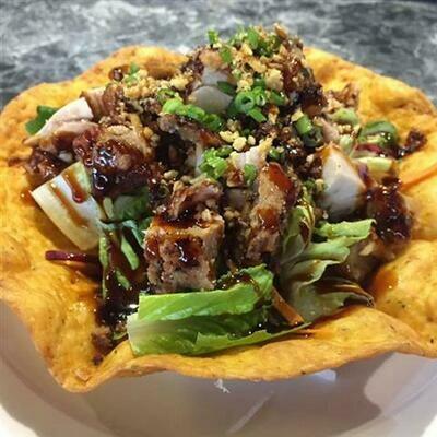 Cajun Teriyaki Chicken Salad
