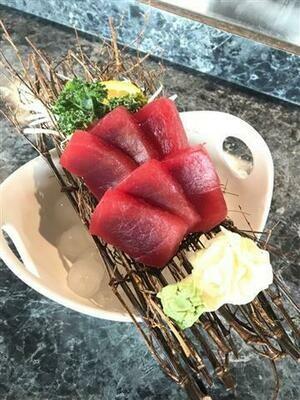 Big Eye Tuna Sashimi (Full)