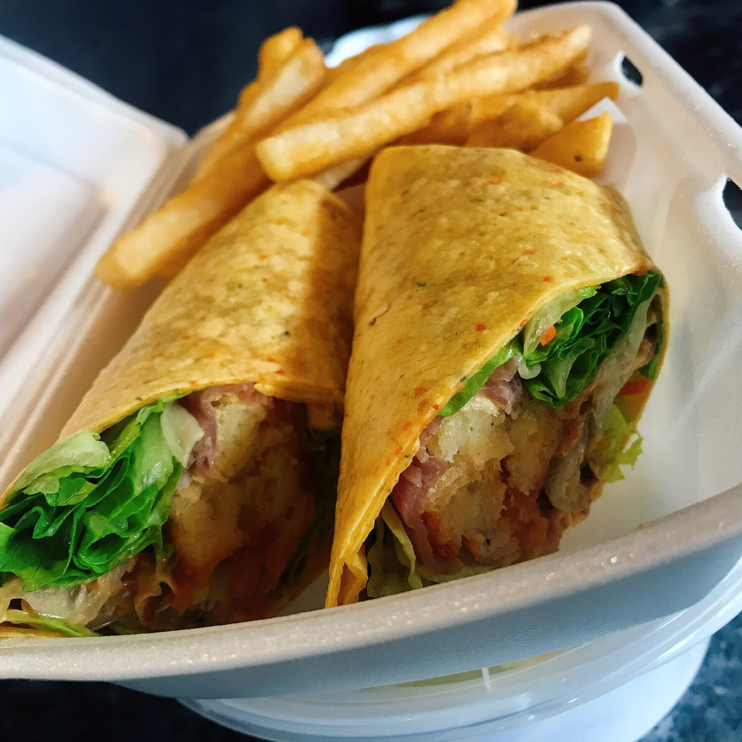 Fat Tuna Wrap
