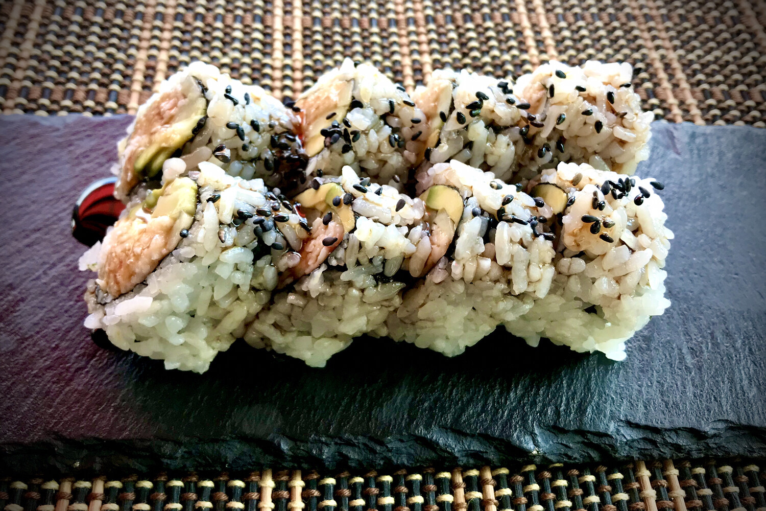 Crimson California Roll