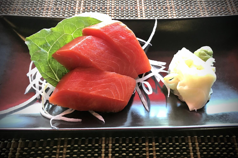 Sockeye Salmon Sashimi (Half)