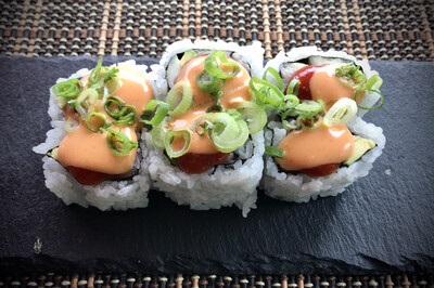 Spicy Sockeye Salmon Roll