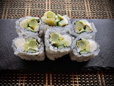 Cream Asparagus Roll