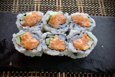 Chopped Scallop Roll