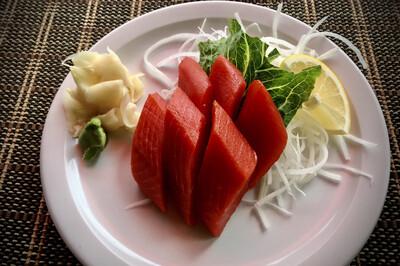 Sockeye Salmon Sashimi (Full)