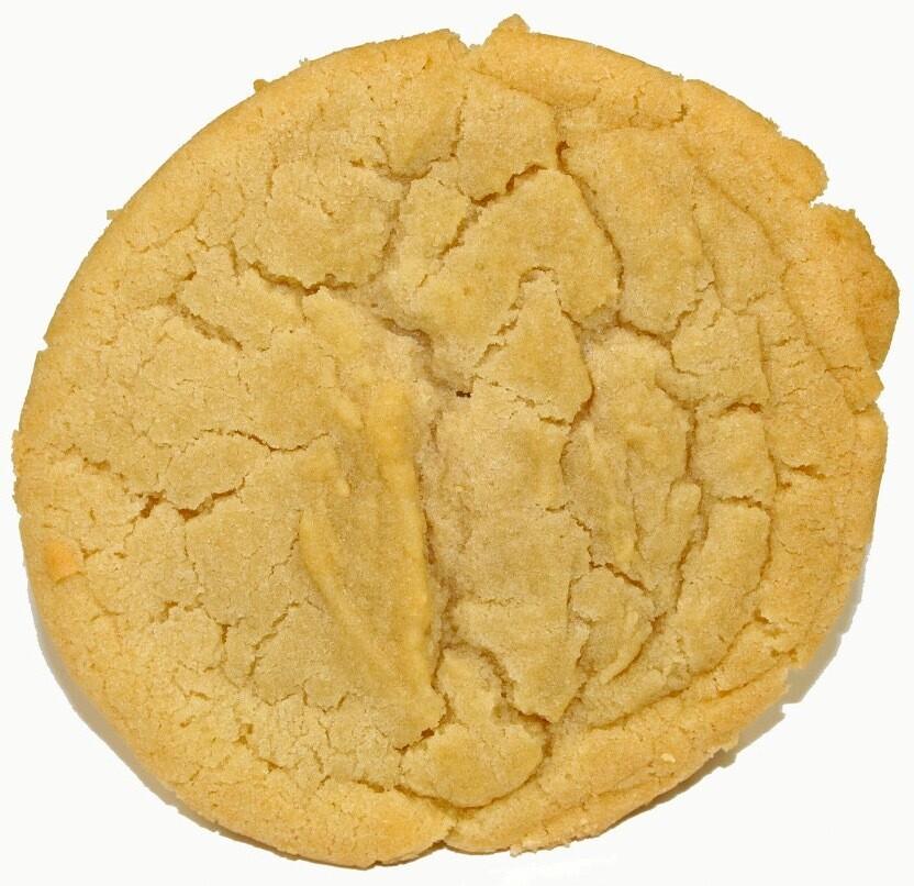 One Dozen Sugar Cookies Party Size