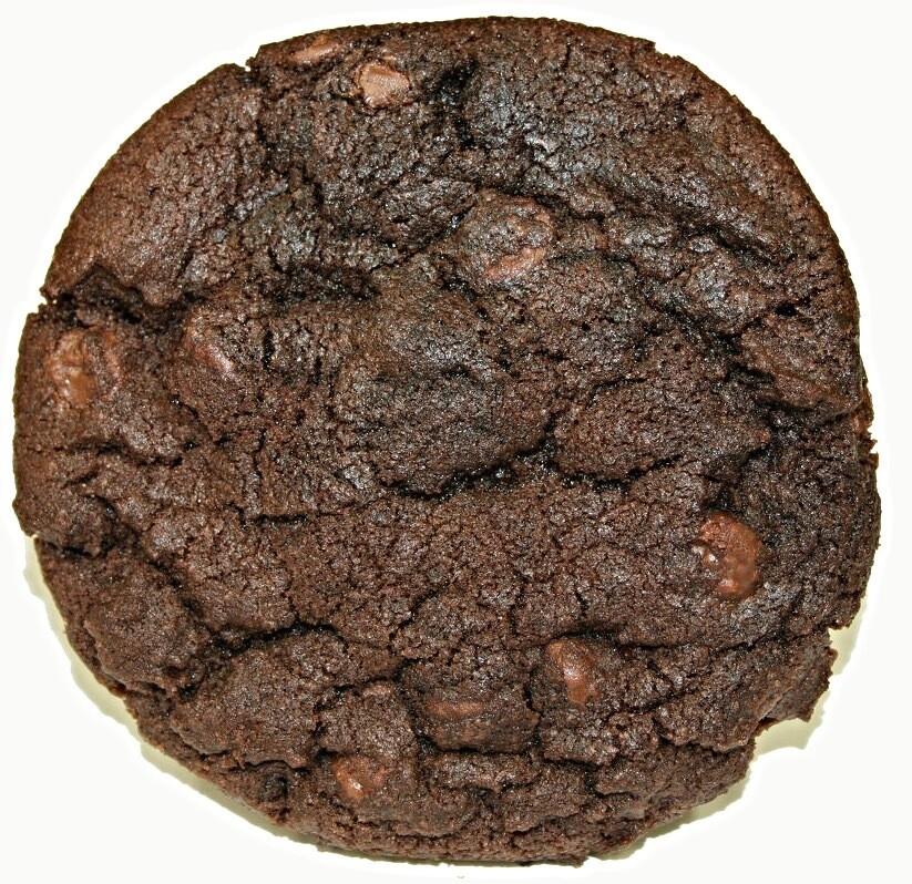 One Dozen Double Chocolate Party Cookies