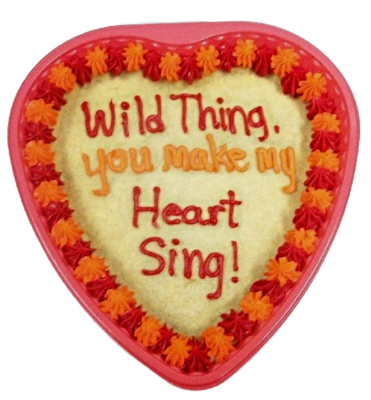 "9"" Heart Cookie Cake"