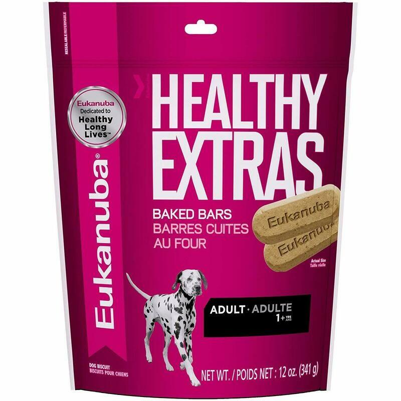 Eukanuba Adulto Healthy Extras Baked 12 oz todas las razas