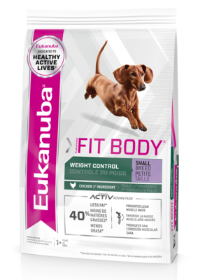 Eukanuba Fit Body Small Breed 5 lb