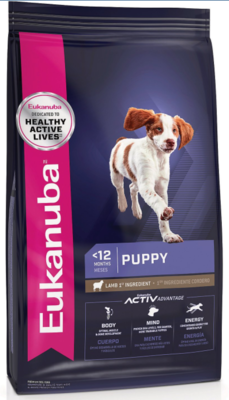 Eukanuba Puppy Lamb 15 libras