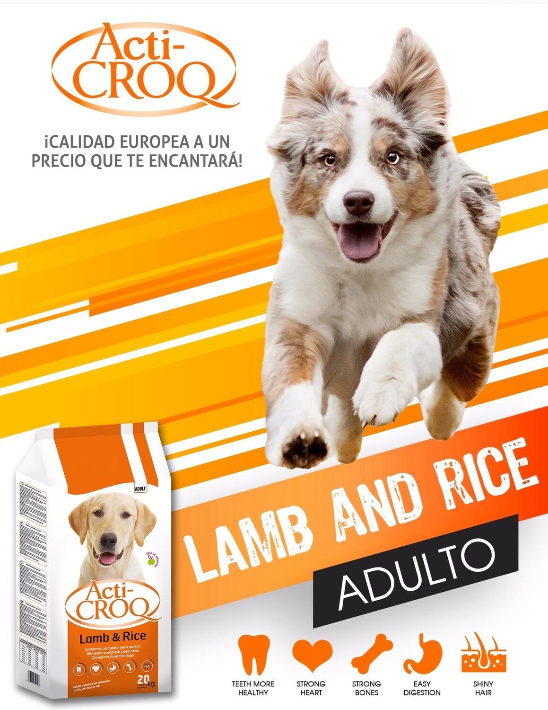 Acti-Croq Cordero y Arroz