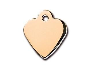 Corazón pequeño Dorado (PLU 133)