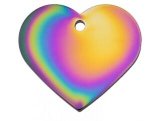 Corazón grande Arcoíris (PLU 128)