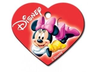 """Corazón grande rojo """"Minnie"""" (PLU 129)"""