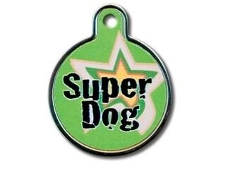 """Círculo grande """"Super Dog"""" Borde alzado (PLU 1945)"""
