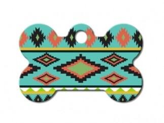 Hueso pequeño Azteca Multicolores (PLU 2915)